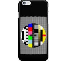 PAL TV Testing 2 iPhone Case/Skin