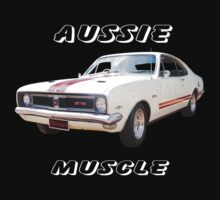 HT Monaro white Aussie Muscle by 1StopPrints