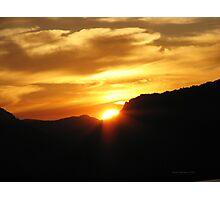 Good Night Sunshine Photographic Print