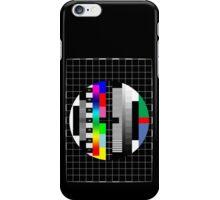 PAL TV Testing iPhone Case/Skin