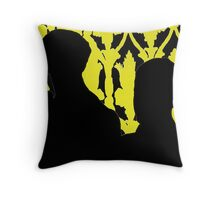 Sherlock and John Silhouette  Throw Pillow