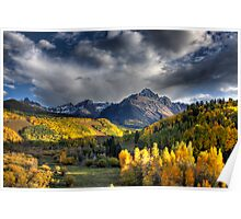 Mt Sneffels in Fall Color Poster