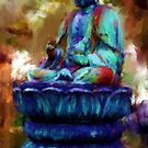 Buddha Revisited  by bev langby