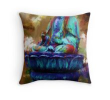 Buddha Revisited  Throw Pillow