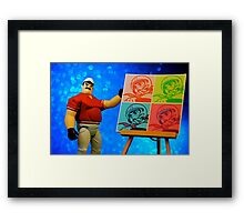 Pops' Art Framed Print