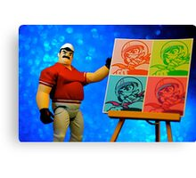 Pops' Art Canvas Print