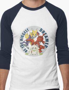 Be The Biggest Dreamer Men's Baseball ¾ T-Shirt