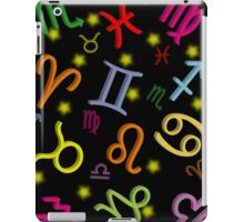 Floating Zodiac Signs iPad Case/Skin