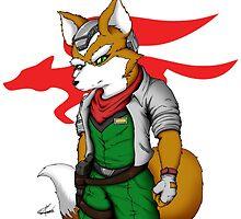 Fox McCloud by Shinfox