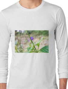 Prickly Chaff Flower Long Sleeve T-Shirt