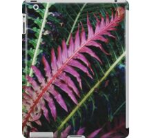 Red Fern #2 iPad Case/Skin