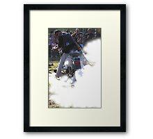 Smokin' Framed Print