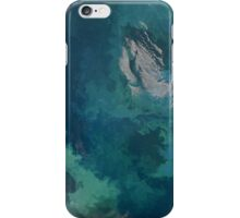 Phytoplankton Bloom in the Barents Sea iPhone Case/Skin