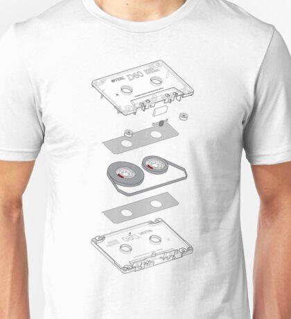 Cassette Explosion Unisex T-Shirt
