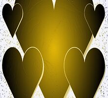 Hearts of Gold-Available As Art Prints-Mugs,Cases,Duvets,T Shirts,Stickers,etc by Robert Burns