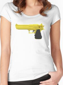 Desert Eagle Gold Women's Fitted Scoop T-Shirt