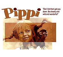 Pippi Longstocking - quote Photographic Print