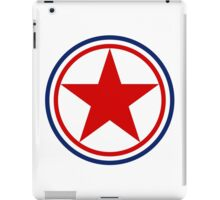 Roundel of the North Korean Air Force iPad Case/Skin