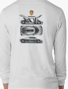 Koenigsegg tribute Long Sleeve T-Shirt
