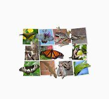 Collage of Australian Native Wildlife, MENS Unisex T-Shirt