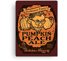 Professor Fussy's Pumpkin Peach Ale Canvas Print
