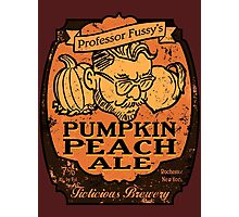 Professor Fussy's Pumpkin Peach Ale Photographic Print