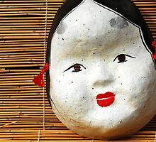 Otafuku Mask, Kyoto by Florence Berluteau