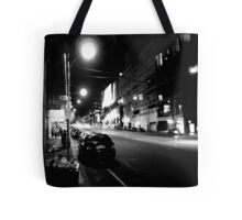 Night streetscape of Melbourne - Photo by Xan Tote Bag