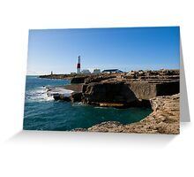 Portland Bill Lighthouse 2 Greeting Card