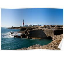 Portland Bill Lighthouse 2 Poster
