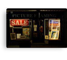 Picture Framing Canvas Print