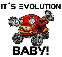 Evolution of Robots Photographic Print