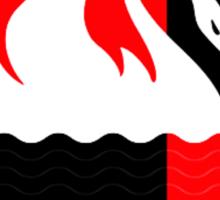 Lost Swan Station Sticker