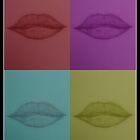Pop Art Lips by tropicalsamuelv