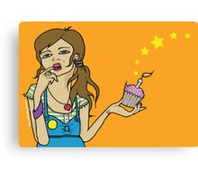 Birthday Girl Canvas Print