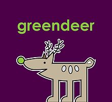 Greendeer by samedog