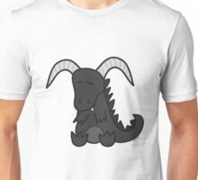 Black chibi dragon Unisex T-Shirt