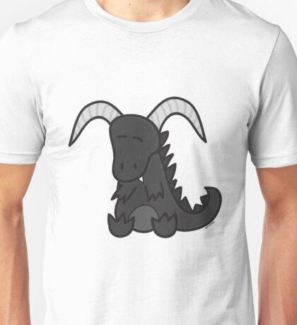 Black chibi dragon Unisex T-Shirt