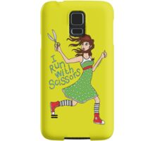 I Run With Scissors Samsung Galaxy Case/Skin