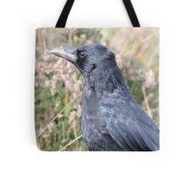 Bore Black Feathers Tote Bag