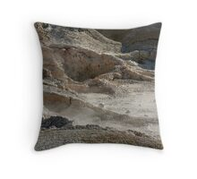 boiling mud Throw Pillow