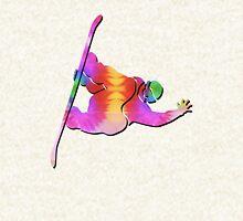 Tie-Dye Snowboarder Hoodie