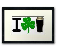 I Rock Guinness - light Framed Print