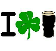 I Rock Guinness - light Photographic Print