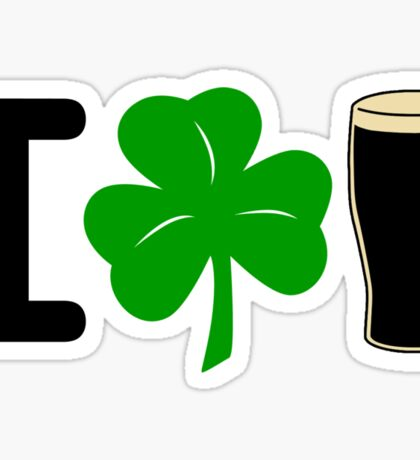 I Rock Guinness - light Sticker
