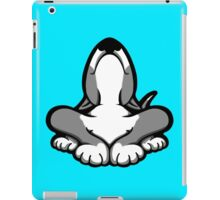 English Bull Terrier After A Hard Day iPad Case/Skin