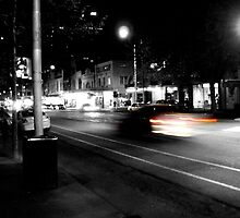 Red lights - Photo by Xan by straylight
