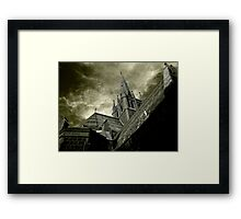St Mary of the Angels - Standing Against Satan #1 Framed Print