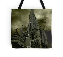 St Mary of the Angels - Standing Against Satan #2 Tote Bag