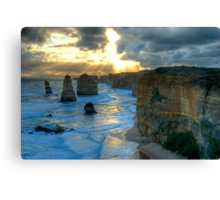 12 Apostles Sunset Canvas Print